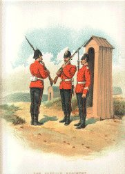 The Suffolk Regiment by Richard Simkin
