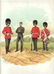 Royal Inniskilling Fusiliers by Richard Simkin.
