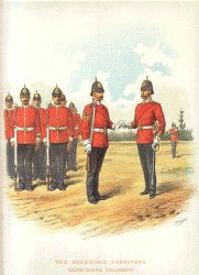 The Sherwood Foresters by Richard Simkin