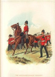 The Northamptonshire Regiment by Richard Simkin