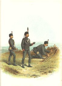 The Kings Royal Rifle Corps by Richard Simkin (P)
