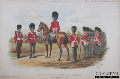 Princess Victoria's Royal Irish Fusiliers by Richard Simkin