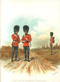 The Royal Munster Fusiliers by Richard Simkin