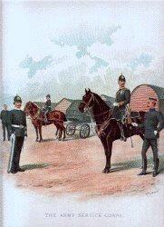 Army Service Corps by Richard Simkin