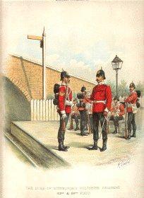 Wiltshire Regiment by Richard Simkin