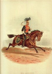 9th Lancers by Richard Simkin.