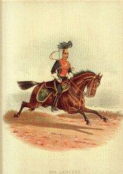9th Lancers by Richard Simkin.
