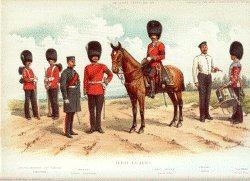 Irish Guards by Richard Simkin