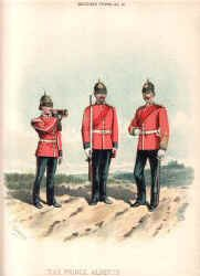 The Somerset Light Infantry (the Prince Alberts) by Richard Simkin