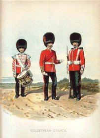 Coldstream Guards by Richard Simkin.