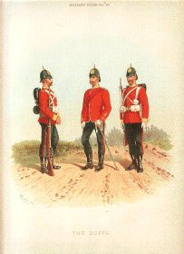 Royal East Kent Regiment, The Buffs by Richard Simkin
