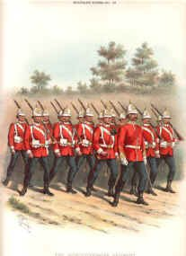 Worcestershire Regiment (29th and 36th Foot) by Richard Simkin