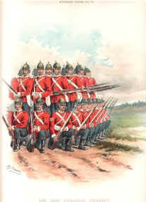 East Yorkshire Regiment (15th foot) by Richard Simkin