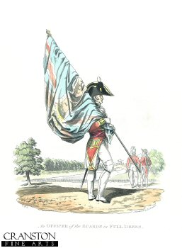 Officer of the Guards in Full Dress.