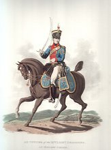 Officer, IXth Light Dragoons in Review Order by J C Stadler after Charles Hamilton Smith.