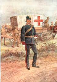 Royal Army Medical Corps by Richard Caton Woodville.
