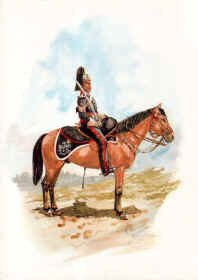 North Somerset Yeomanry Sgt Major 1854 by R Marrion