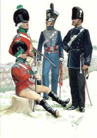 Yorkshire Dragoons 1794-1865 by R Marrion