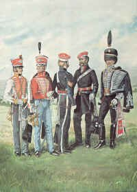 The Yorkshire Hussars 1817-1900 by R Marrion