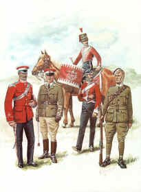 Westmoorland and Cumberland Yeomanry 1870-1914 by R Marrion