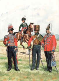 Yeomanry Cavalry of Norfolk 1799-1864 by R Marrion