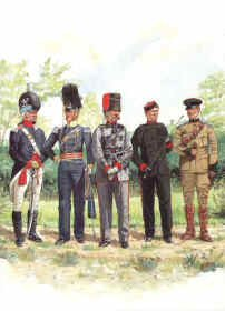 East Kent Yeomanry Cavalry 1797-1908 by R Marrion
