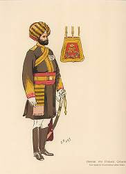5th Punjab Cavalry by John Charlton (1897)