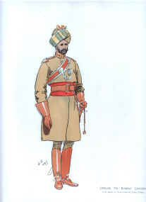 Officer 7th Bombay Lancers by John Charlton (1897) (P)