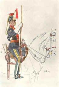 12th Lancers by John Charlton. (1899)