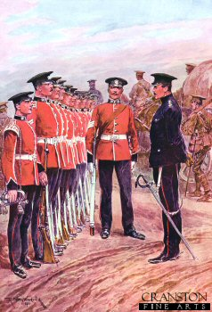 Prince Alberts Somerset Light Infantry by Richard Caton Woodville