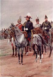 Brigadier General and Staff by Richard Caton Woodville (P)