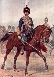 Royal Gloucestershire Hussars by Richard Caton Woodville