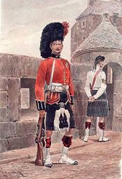 The Black Watch by Richard Caton Woodville (P)
