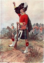 The Gordon Highlanders by Richard Caton Woodville. (P)