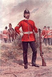 East Yorkshire Regiment by Richard Caton Woodville (P)