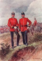 The Royal Warwickshire Regiment by Richard Caton Woodville (P)