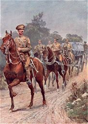 Army Service Corps by Richard Caton Woodville.