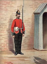 The 25th Kings Own Scottish Borderers by G Douglas Giles. (P)