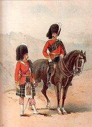 The 72nd Seaforth Highlanders by Frank Feller (P)