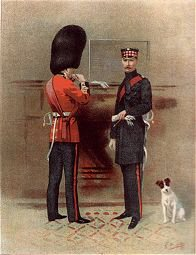 The Scots Guards by G Douglas Giles (P)