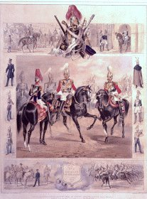 Cavalry of the Guard by Michael Angelo Hayes