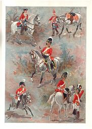 Scots Greys from 1704 - 1815 by Harry Payne (P)