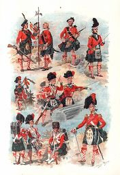 Black Watch Uniforms 1739 - 1845 by Harry Payne (P)