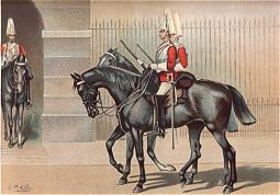 The 1st Life Guards by G Douglas Giles (P)