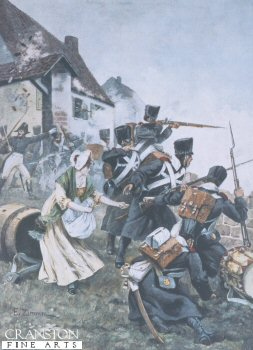 Johanna Stegen at the Storming of Luneburg by Zimmer.