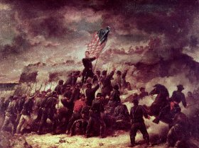 Union Assault on Confederate Works by Winner.