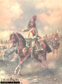 French 4th Regiment of Dragoons by Jim Lancia.