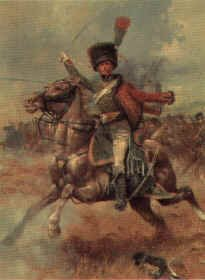 Chasseur Cheval of the Guard by Jim Lancia.