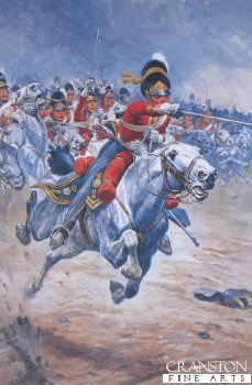 Charge of the Greys by Stanley Wood.