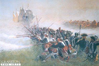 Das 1 Battalion, leibgarde bei Kollin by Richard Knotel.